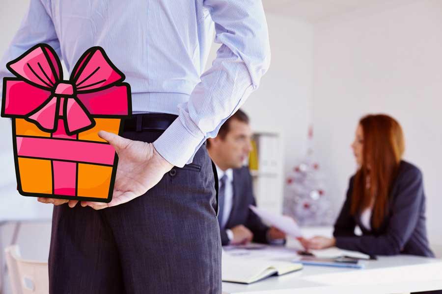 Cadeaux d'affaire : comment rester dans les clous
